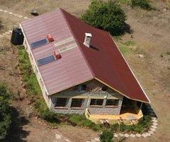 Sandai: Photothermie auf den Cottages