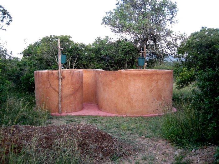 Der Campingplatz: Duschen