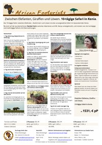 10-tägige Safari in Kenia - Safaripaket