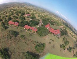 Sandai Farm from the air