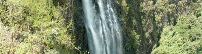 Aberdares: Die Karuru Wasserfälle