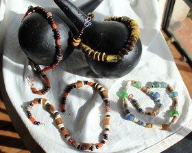 Jewellery from the last jewellery making weekend