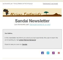 Sandai-Newsletter