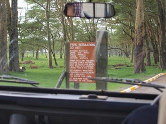 Lake Nakuru: Park Gate