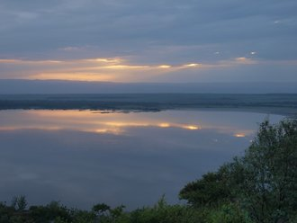Lake Nakuru: Sunset