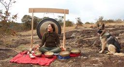 Singing Bowl Therapy on Sandai