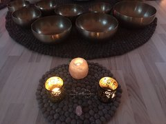 Singing Bowl Therapy on Sandai