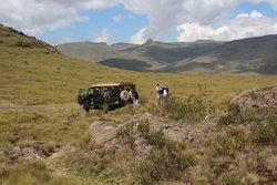 Aberdare Nationalpark: Ausgangspunkt auf knapp 3500m