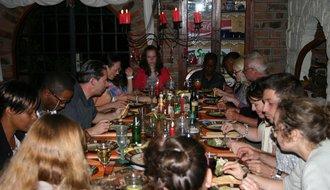 Dinner mit Freunden & Familie